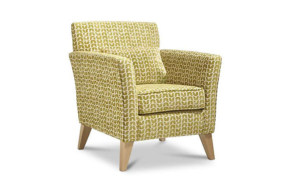 Compton Accent Chair - Light Legs