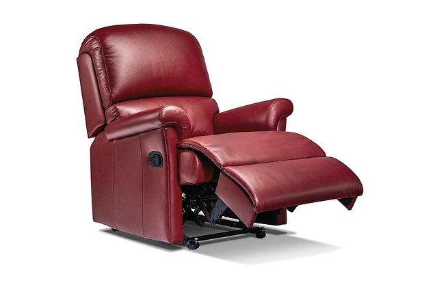 Wexford Leather Small Recliner Chair