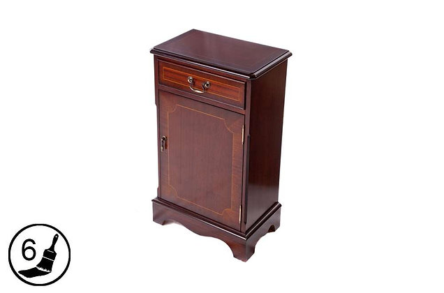 Simply Classical 1 Door Bookcase