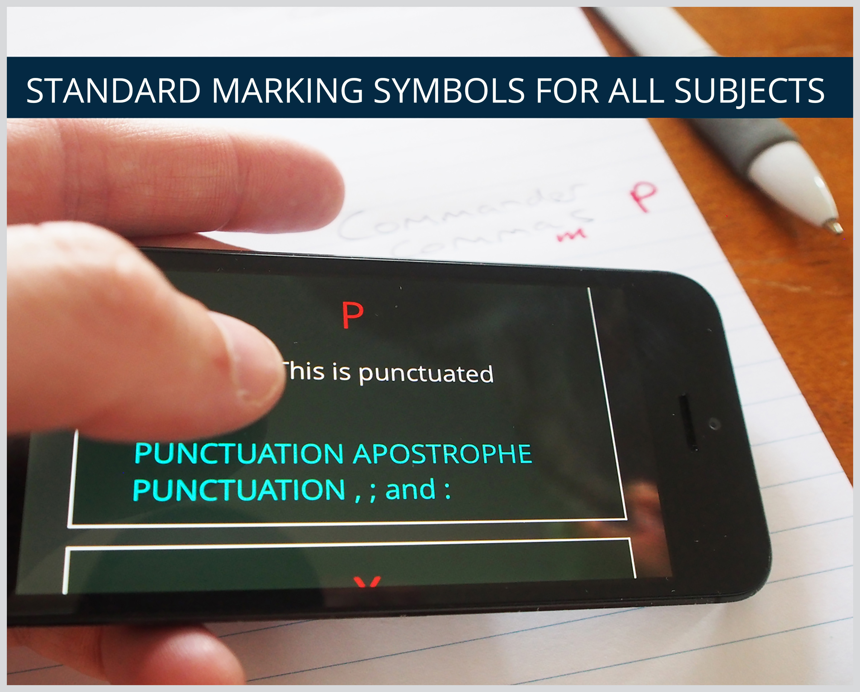 STANDARD MARKING SYMBOLS FOR ALL SUBJECTS