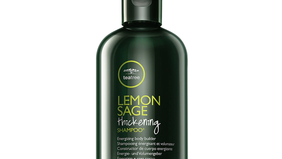 Lemon Sage Thickening Shampoo Tea Tree
