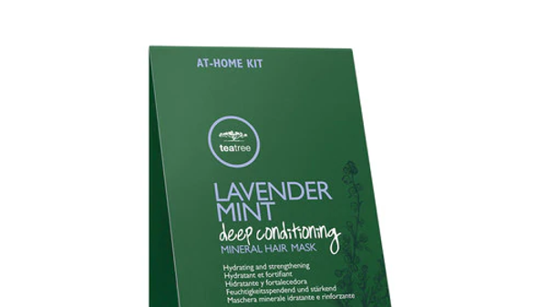 Lavender Mint Deep Conditioning Mineral Hair Mask Set of 6 Tea Tree