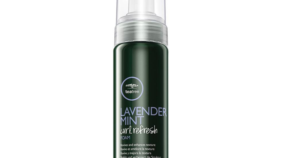 Lavender Mint Curl Refresh Foam Tea Tree