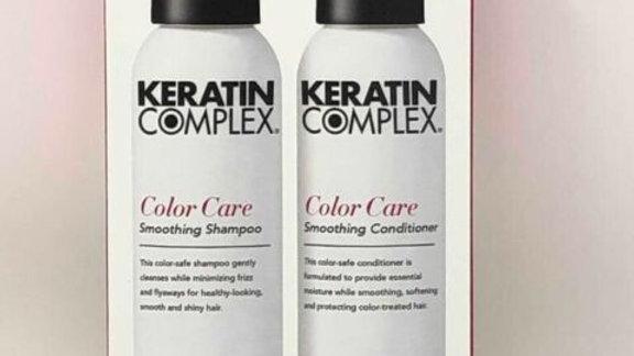 Keratin Complex Color Care Shampoo & Conditioner Travel size 3 oz each