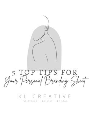 My 5 Top Tips for your Branding Shoot