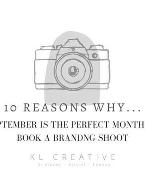 10 REASONS TO BOOK YOUR BRANDING SHOOT THIS AUTUMN