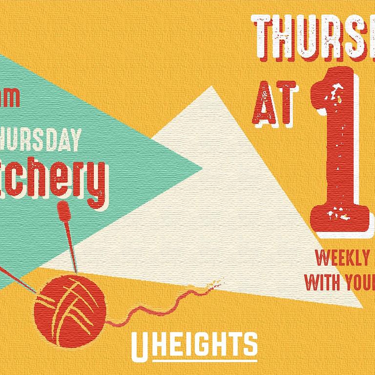 Thursdays at 10 - Stitchery
