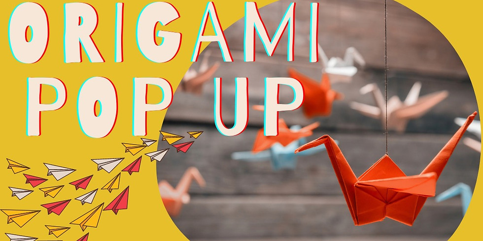 Crane City Origami Pop-up