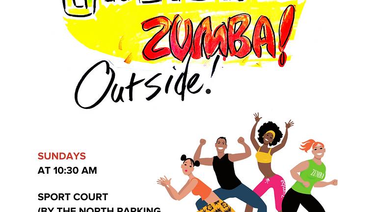 Outdoor Zumba at UHeights (Sundays)