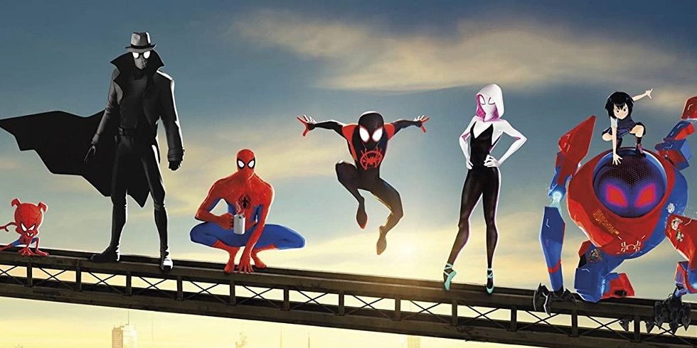 Carpool Cinema - Spider-man: Into the Spiderverse (THU showing)