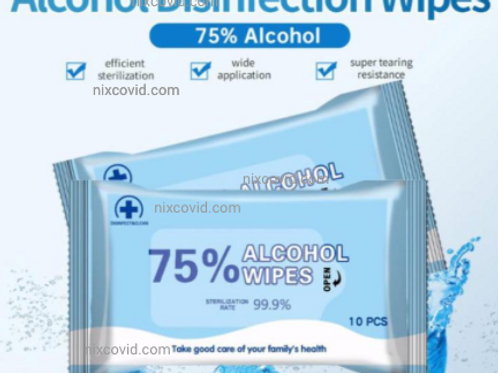 Alcohol Disinfecting Wipes