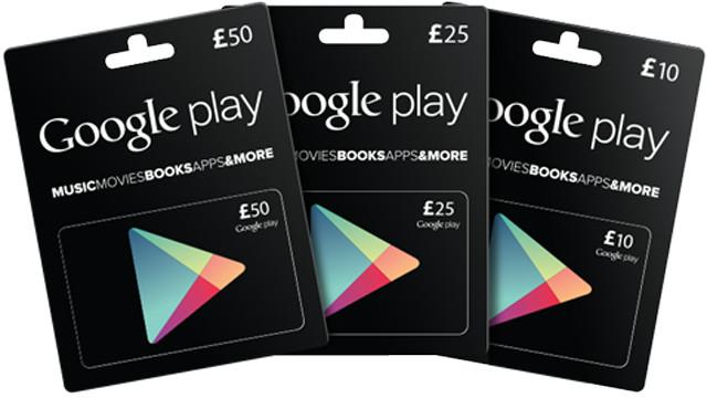 GOOGLE PLAY GIFT CARDS GENERATOR