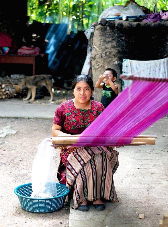 Guatemala Women Weaver