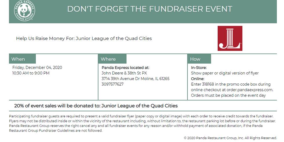 Panda Express Fundraiser for Junior League of the Quad Cities