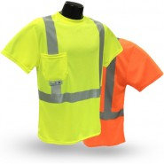 ST11 CLASS 2 HI-VIZ SAFETY T-SHIRT WITH MAX-DRI™