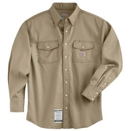 FLAME-RESISTANT SNAP-FRONT SHIRT
