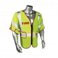 LHV-PS3-DSZR-FR FIRE FIGHTER SAFETY VEST