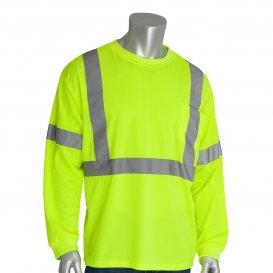 PIP 313-1300 Class 3 Long Sleeve Safety T-Shirt