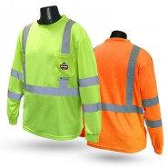 ST21UV CLASS 3 HI-VIZ SAFETY T-SHIRT WITH RAD-SHADE® UV PROTECTION