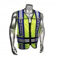 LHV-207-4C-POL POLICE SAFETY VEST