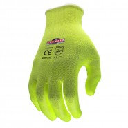RADIANS RWG531 RADWEAR® SILVER SERIES™ HI-VISIBILITY CUT LEVEL 3 GRIP GLOVE