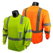 ST24-3 CLASS 3 HI-VIZ SAFETY T-SHIRT WITH RAD-SHADE® UV PROTECTION