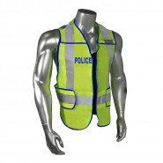 LHV-207DSZR-POL POLICE SAFETY VEST