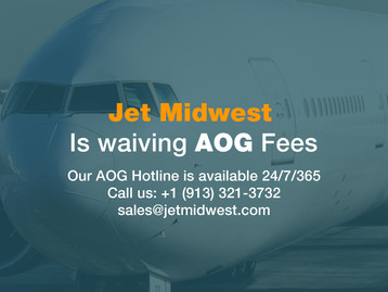 Jet Midwest is waiving AOG fees