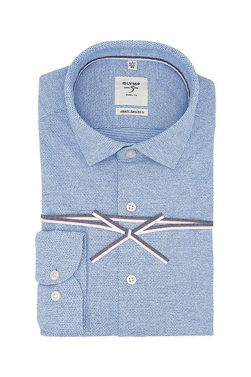 Рубашка Olymp Level Five Smart Business светло-голубая (Jersey).