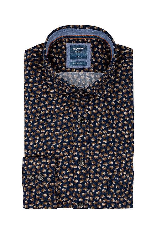 Рубашка Olymp Luxor Casual с мелким принтом.