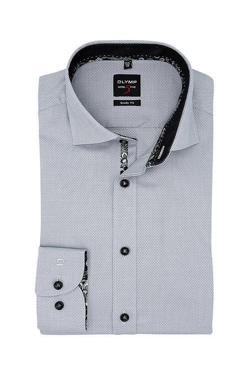 Рубашка Olymp Level Five с тонким серебристым отливом.