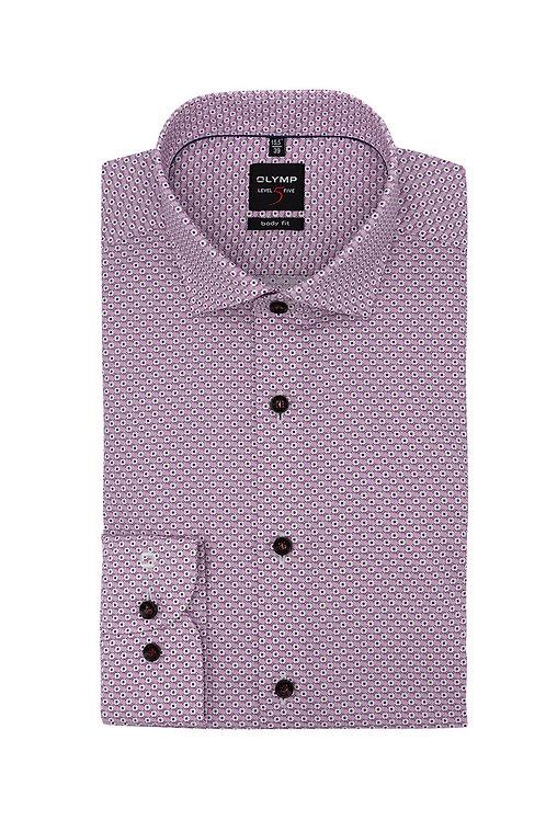 Рубашка Olymp Level Five с микро-дизайном.