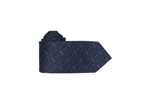 Галстук Bernd Hennes темно-синего оттенка с дизайном