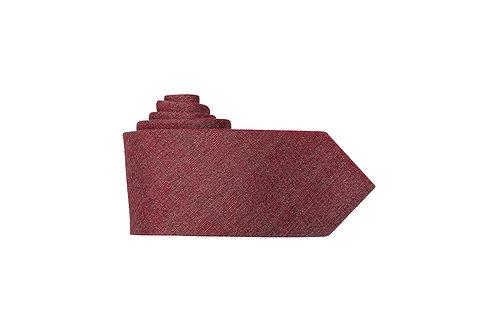 Галстук Olymp бордовый меланж со стальным отливом