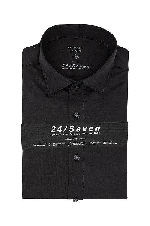 Рубашка Olymp Level Five 24/Seven чёрного цвета (Jersey).