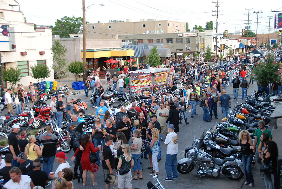 Annual Rumble & Roll Parade & Steet Party