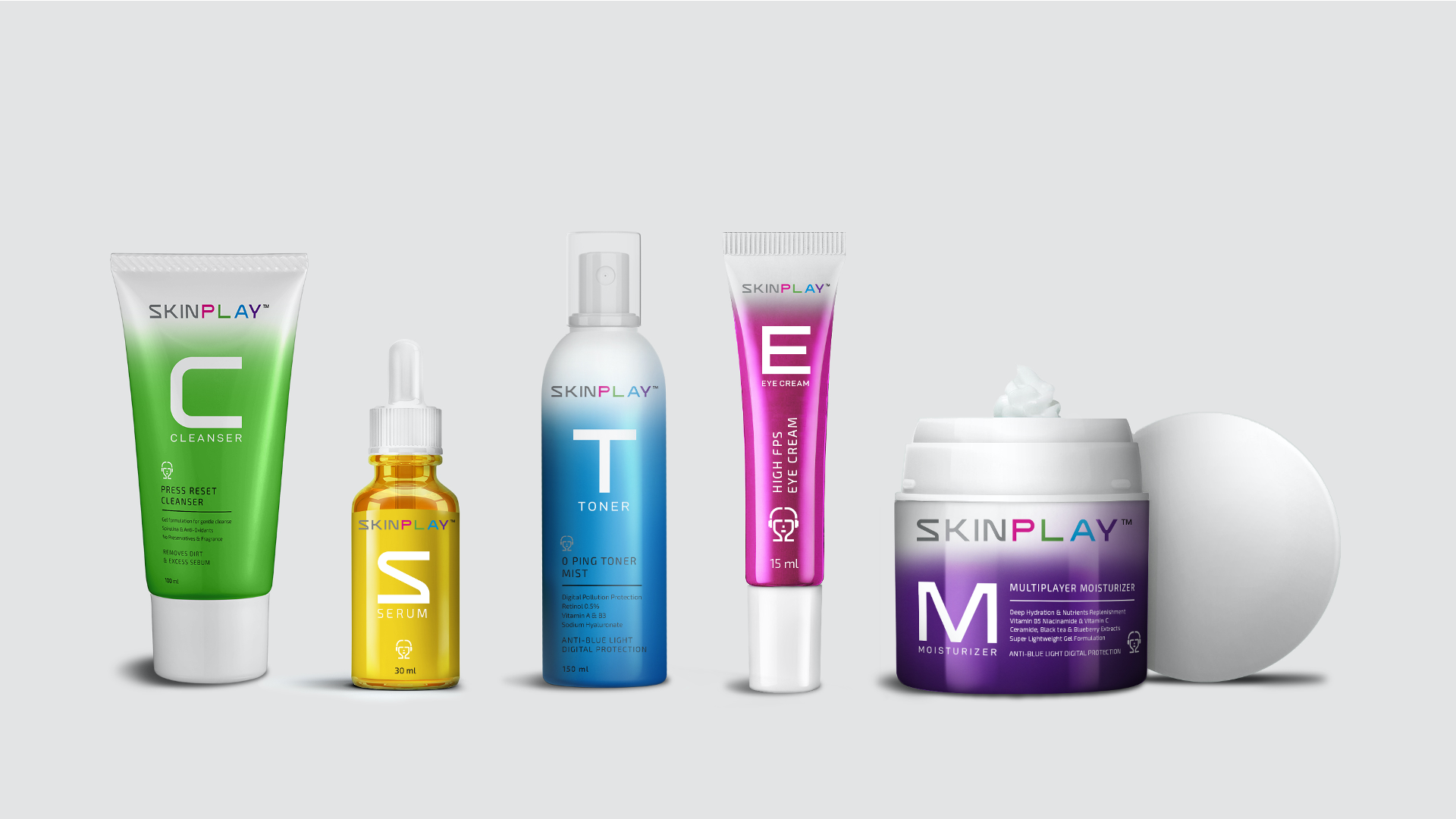SKIN P L A Y Product line