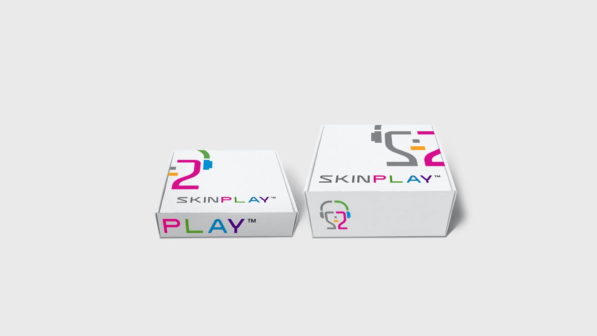 SKIN P L A Y Cardboard Box