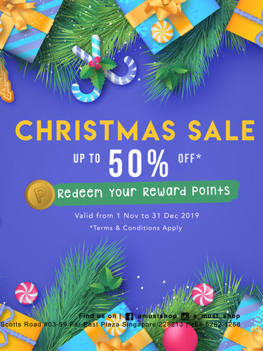 [Asset for Social] A Must Shop Christmas Sale