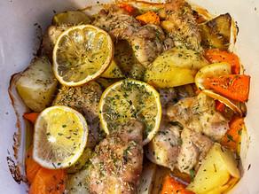 Student Chef Diaries: Herb, Lemon & Olive Chicken Layered Bake