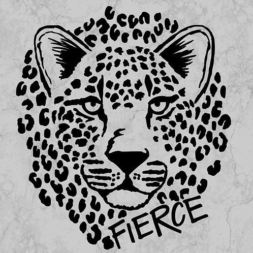 Fierce Leopard Print