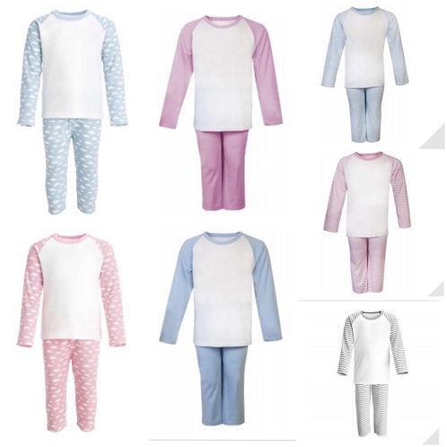 Choose design/font - Raglan pyjamas