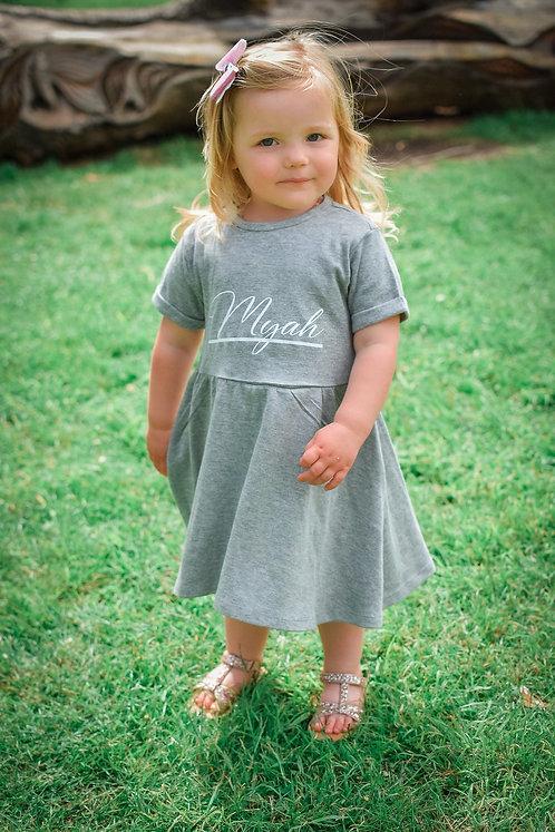 SALE Grey Dress
