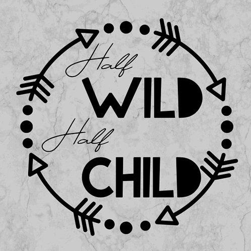 half wild, half child
