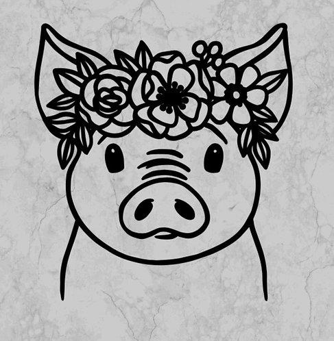Girl pig