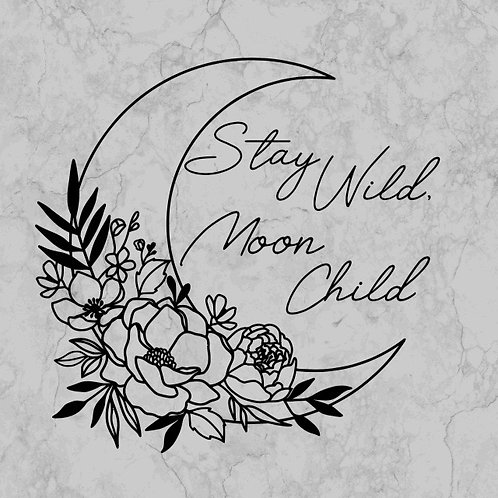 Girl moon child