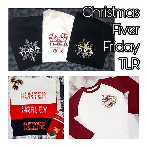 TEES - FIVER FRIDAY - NOADDED DISCOUNT