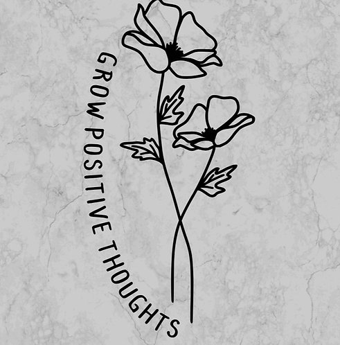 Adult grow positive thoughts