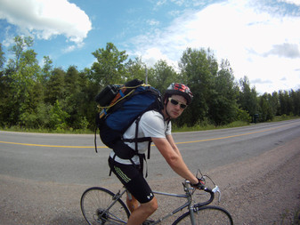 Cycle-Backpacking: A Solo Adventure to Wolf Island