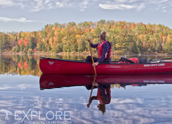 Fall Paddling in Algonquin